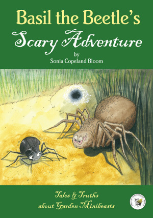 Front cover for Basil the Beetle's Scary Adventure