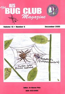 Bug Club Magazine cover - December 2005