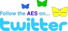 Follow the AES on twitter