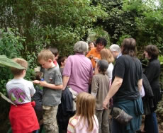AES members enjoy a trip to the London Butterfly House in May 2006